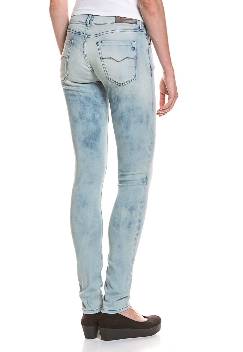 femmes Jeans pour Replay Stretch High wU8zRqzO
